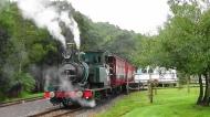 TAS Queenstown Train 13