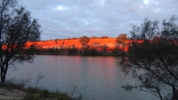 Red cliffs sunrise 4