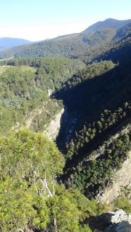 TAS Levern Canyon Cruickshank lookout 1